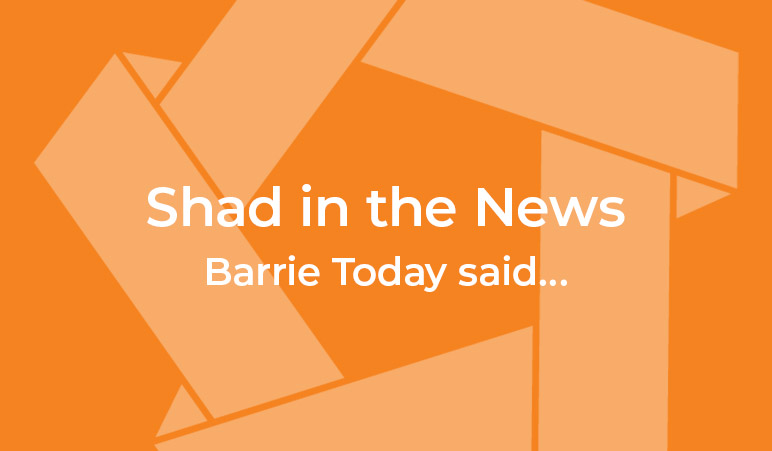 Shad in the news