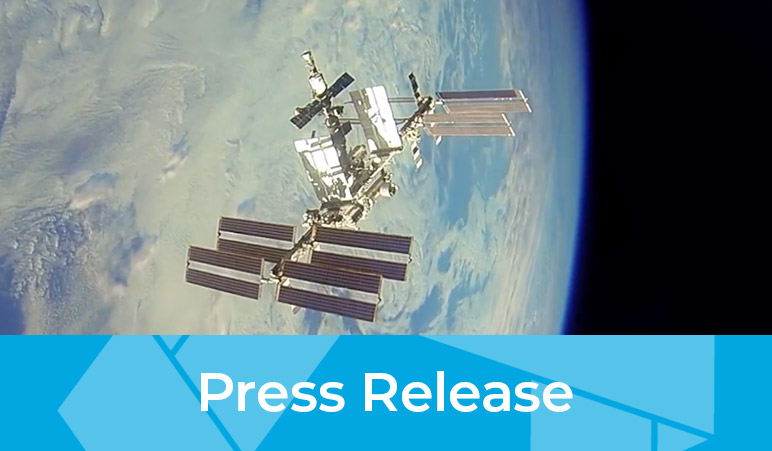 Press release image of satellite