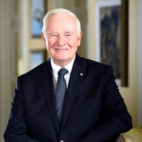 The Right Honourable David Johnston, the 28th Governor General of Canada