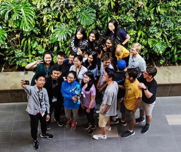 Participate Group Shot at TI & Design Workshop 2019
