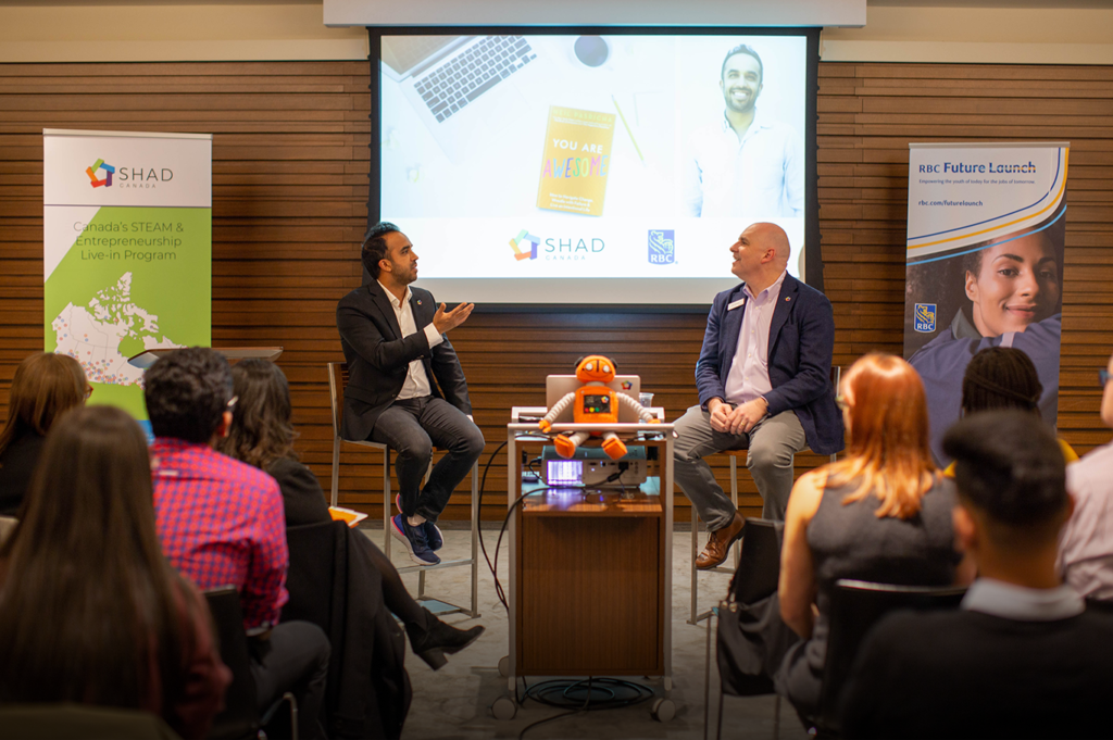 Neil Pasricha and RBC Shad Alumni Event